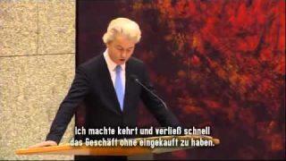 Geert Wilders über den Asyl Wahnsinn – Rapefugees not welcome – AFD PEGIDA