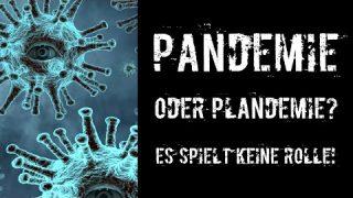 Pandemie oder Plandemie? Es spielt keine Rolle!