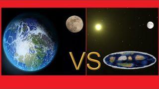 Runde Erde vs Flache Erde – Mond und Sonne – Tag und Nacht Der Beweis für unsere Erde 2019